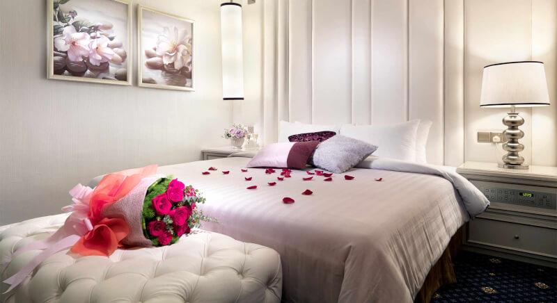 Contoh desain kamar pengantin terbaru