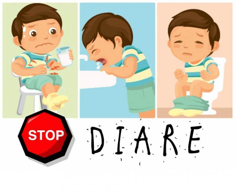 mekanisme diare