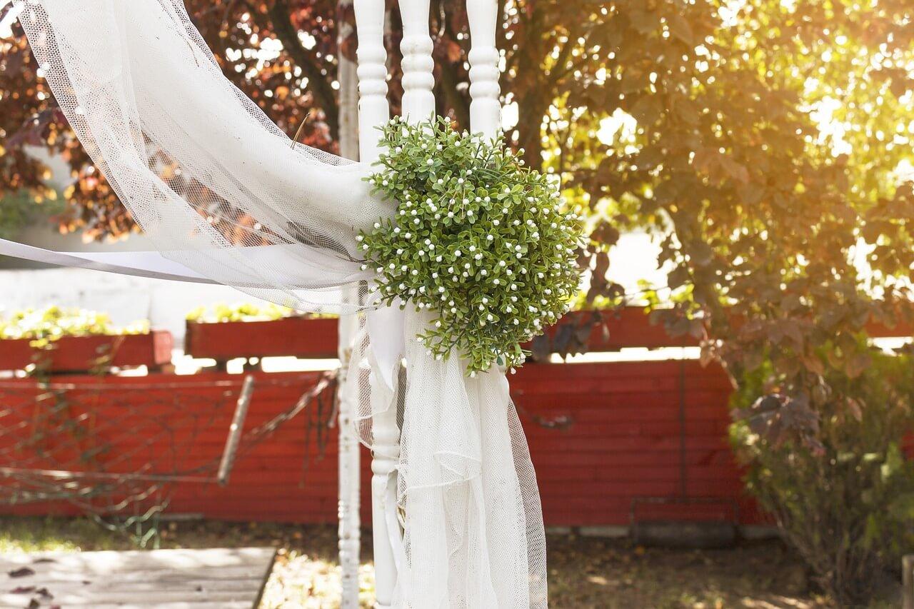 dekorasi tempat nikah