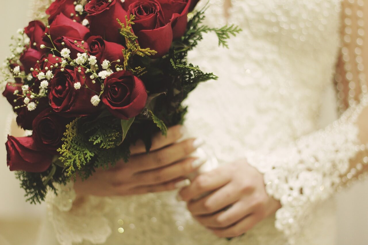 Aksesoris pengantin wanita