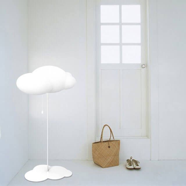 lampu kamar unik seperti awan