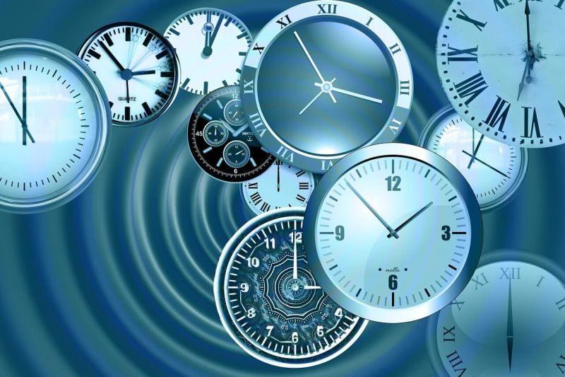 Hubungan Antara Perubahan dengan Waktu