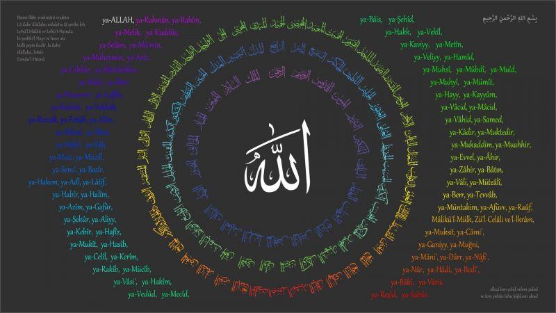 99 Asmaul Husna Dan Artinya Beserta Faedah Mengamalkannya