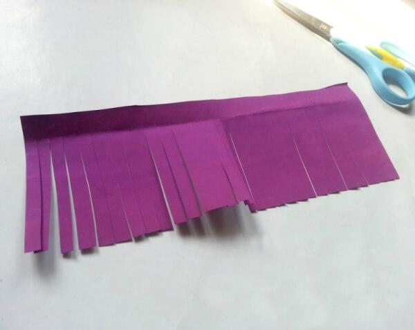 Langkah 2 cara membuat bunga dari kertas