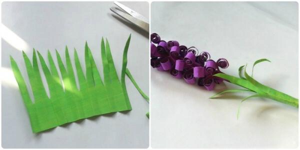 Langkah 5 cara membuat bunga dari kertas