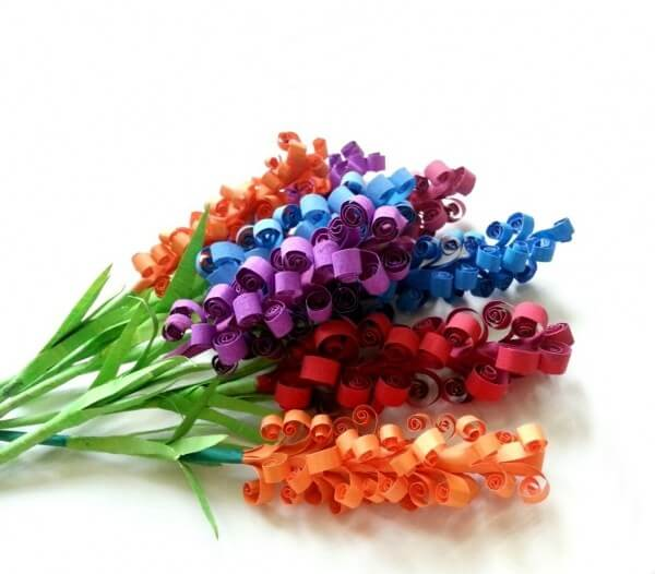 Cara membuat bunga dari kertas