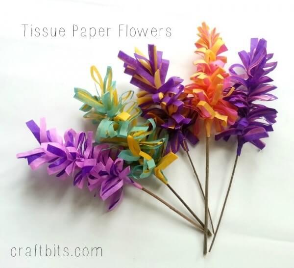 bunga dari tisu