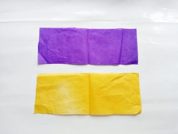 Langkah 1 Cara membuat bunga dari tisu