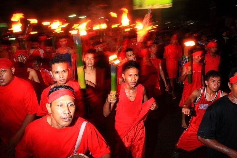 Estafet Obor di Semarang