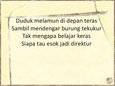 Contoh Pantun Nasehat