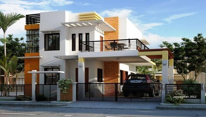 Gambar rumah minimalis sederhana tampak dari depan