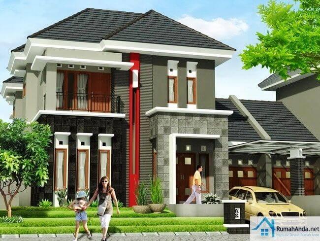 Rumah tingkat 2 minimalis