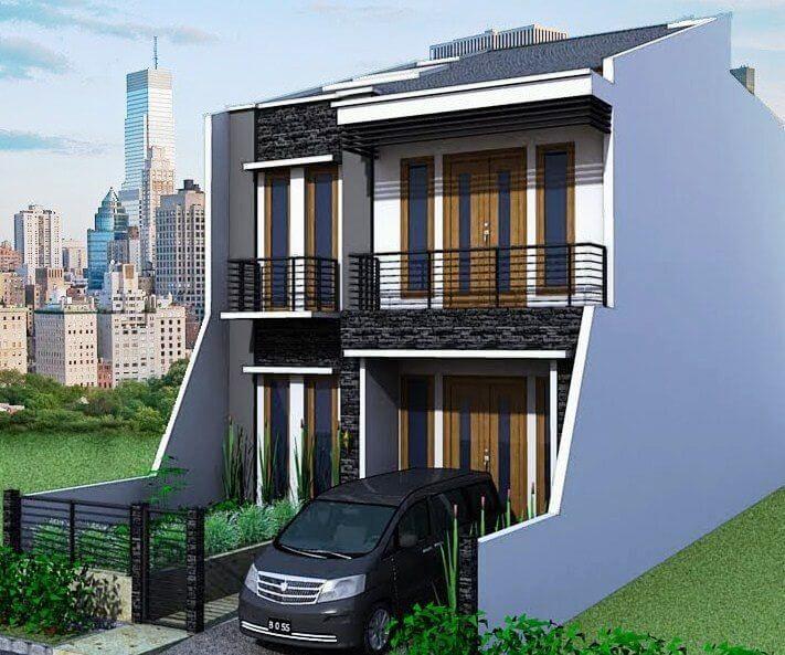 Rumah modern minimalis 2017