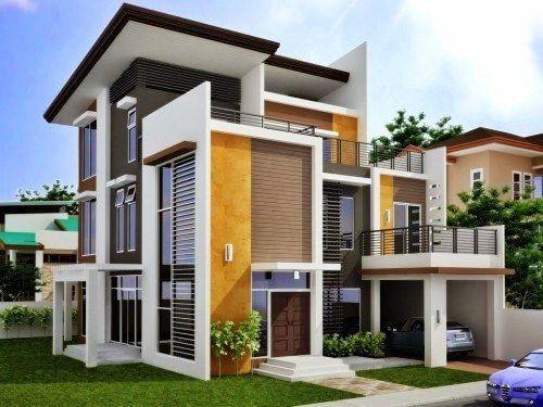 Bentuk rumah sederhana tapi modern