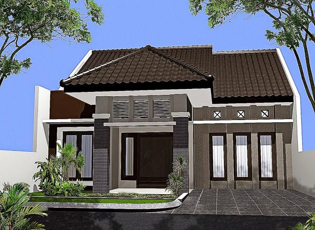 Model Rumah Minimalis Tampak Depan 9