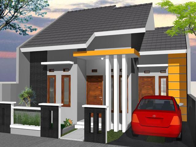 Model Rumah Minimalis Tampak Depan 11