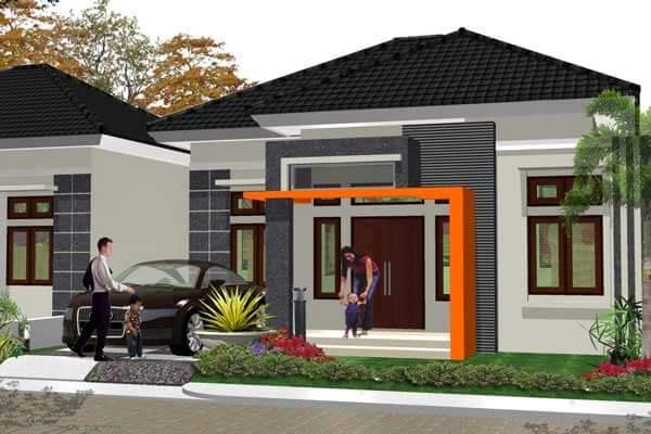 Model Rumah Minimalis Tampak Depan 13