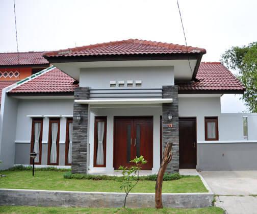 Model Rumah Minimalis Tampak Depan 14