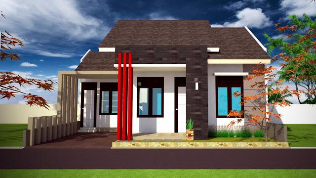 Rumah Minimalis Tampak Depan 1