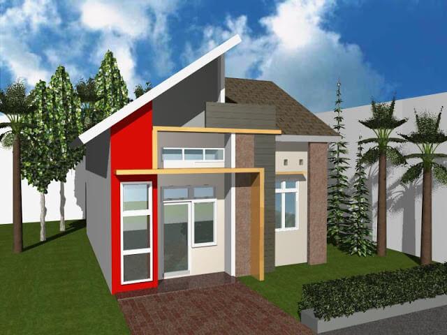 Model Rumah Minimalis Tampak Depan 18