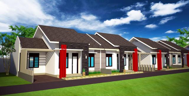 Model Rumah Minimalis Tampak Depan 19