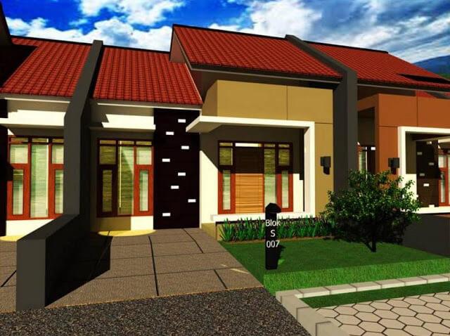 Model Rumah Minimalis Tampak Depan 20