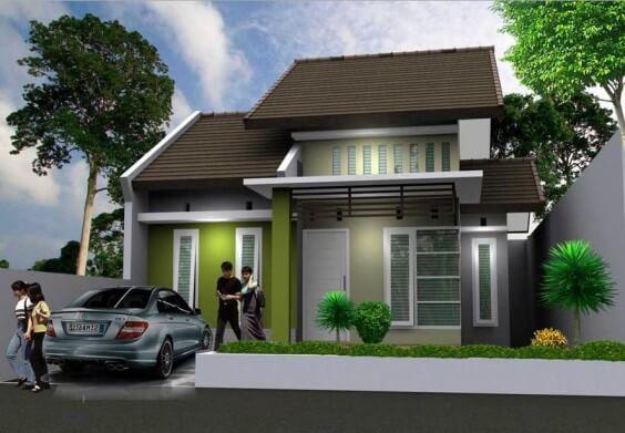 Model Rumah Minimalis Tampak Depan 21