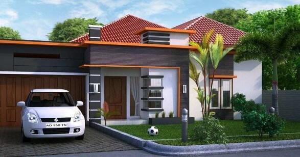 Model Rumah Minimalis Tampak Depan 22