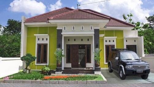Model Rumah Minimalis Tampak Depan 24