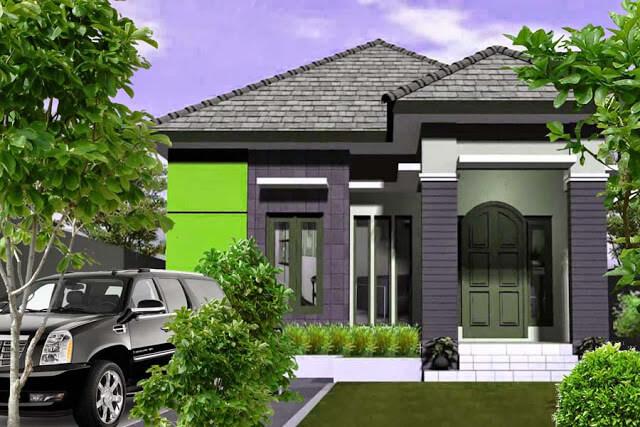 Model Rumah Minimalis Tampak Depan 29