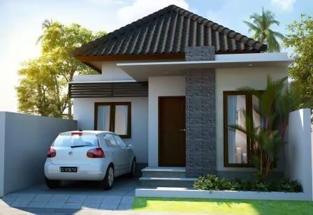 Model Rumah Minimalis Tampak Depan 30