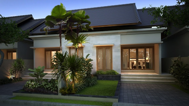 Model Rumah Minimalis Tampak Depan 35