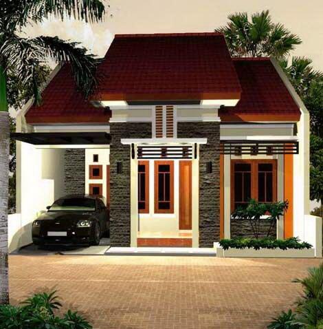 Model Rumah Minimalis Tampak Depan 38