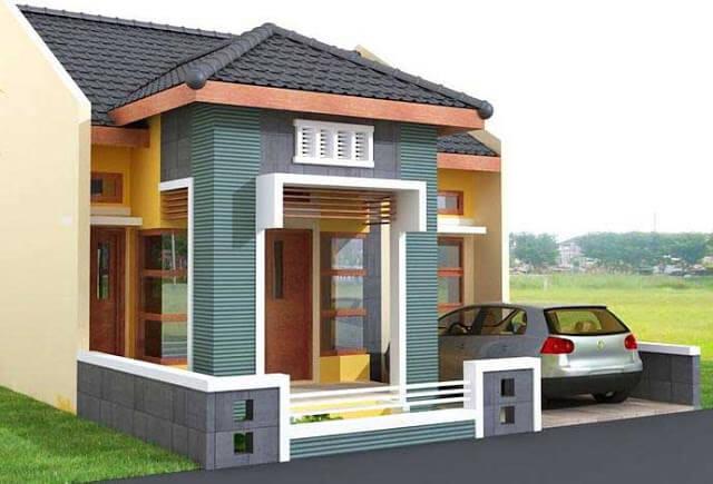 Model Rumah Minimalis Tampak Depan 42