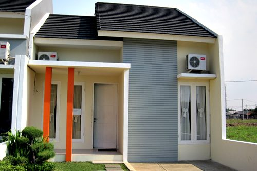 Model Rumah Minimalis Tampak Depan 43