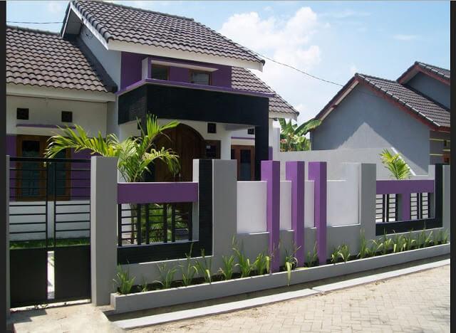 Model Rumah Minimalis Tampak Depan 46