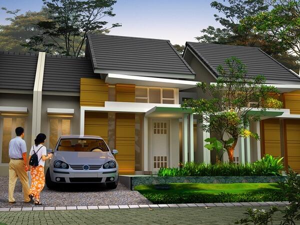Model Rumah Minimalis Tampak Depan 47