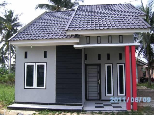 Model Rumah Minimalis Tampak Depan 48