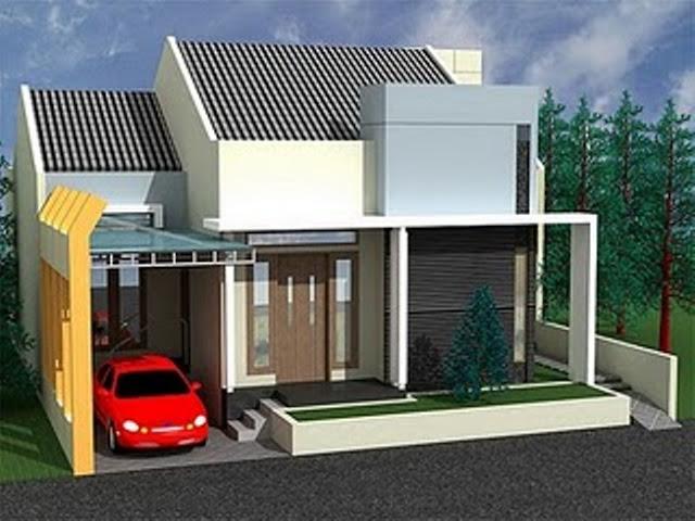 Model Rumah Minimalis Tampak Depan 51