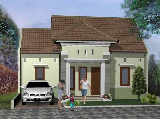 Model Rumah Minimalis Tampak Depan 58