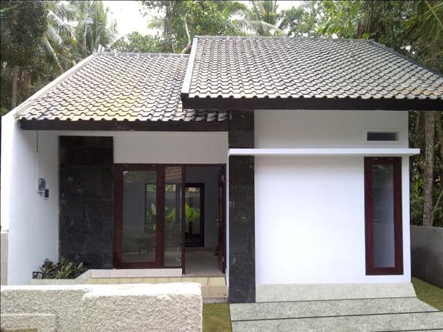 Model Rumah Minimalis Tampak Depan 59