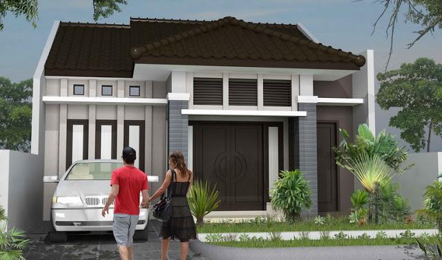 Model Rumah Minimalis Tampak Depan 62