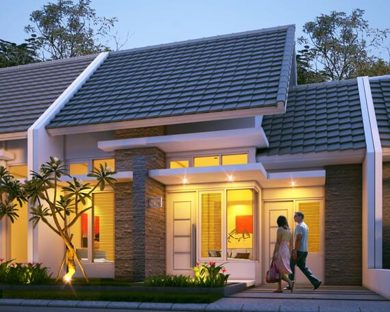 Model Rumah Minimalis Tampak Depan 63