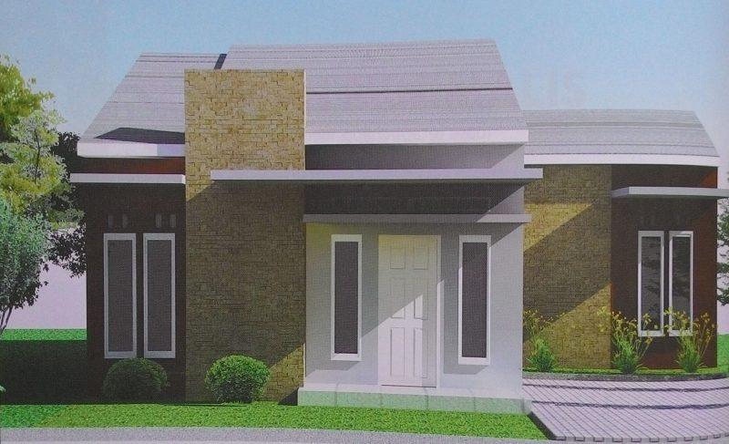 Model Rumah Minimalis Tampak Depan 65