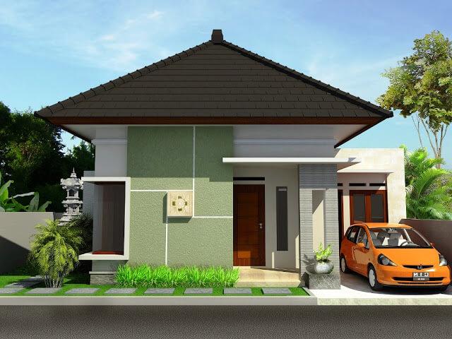 Rumah Minimalis Tampak Depan 7