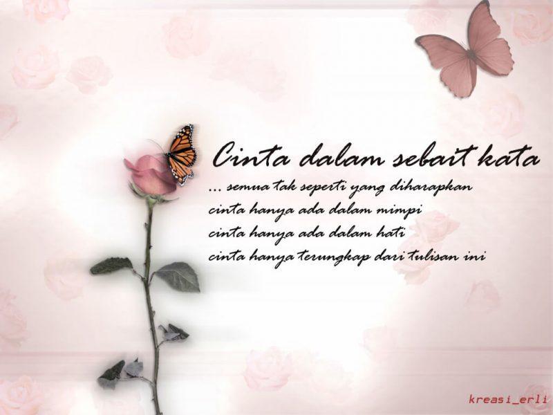 Puisi Cinta Sedih