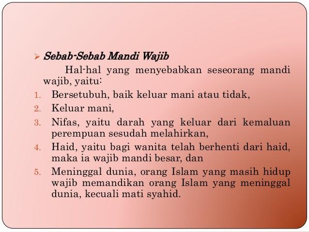 Niat Doa Tata Cara Mandi Wajib Junub Yang Benar Sesuai Sunnah
