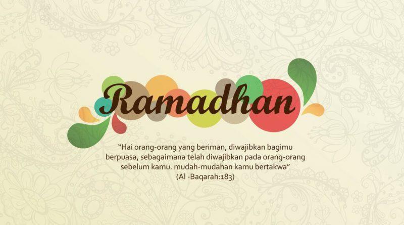 Ayat yang memerintahkan untuk berpuasa ramadhan