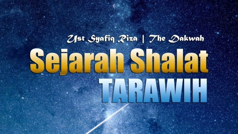 Sejarah shalat tarawih
