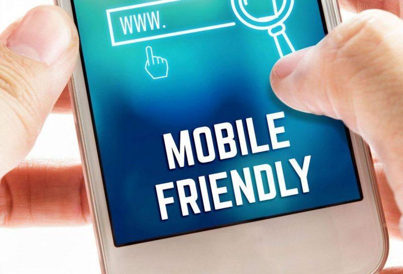 Website mobile fiendly